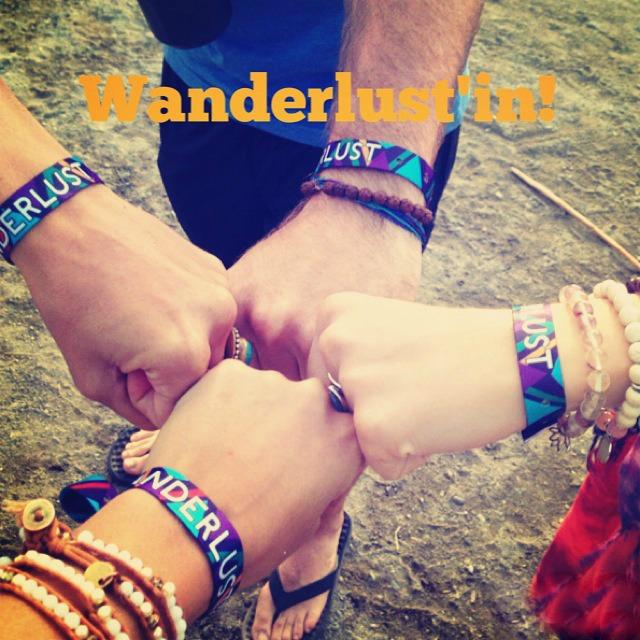 Wanderlust team fist bump!