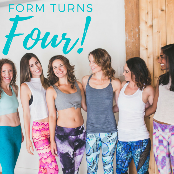 FORM turns four!