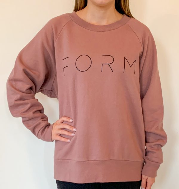 FORM Sweater - Light Coral